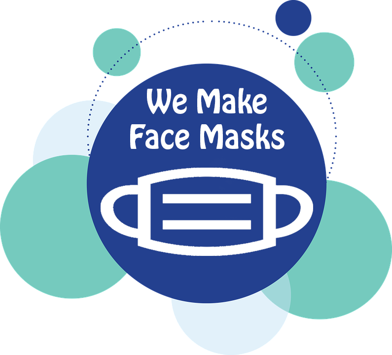 Check out our face masks page